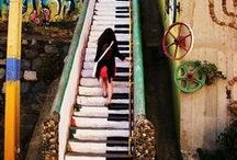 Stairways to Heaven / Ok maybe not to heaven, but these babies definitely lead somewhere.