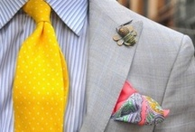 Pour Homme / I swear over well-dressed men. / by Hanh Nguyen