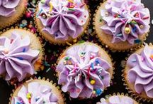 Cakes & Cupcakes / Cute cakes and cupcakes I've seen up close or like.