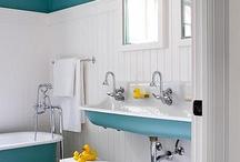 Home - Bathroom Ideas / by Marjorie Sakelik