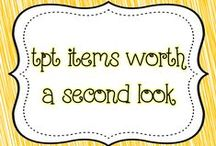 TPT items worth a second look / A collection of great TPT items that should not be overlooked!