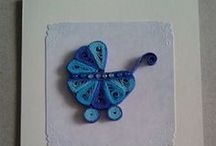 Quilling cards / Cards made by me - feel free to pin and make a lot of cards :D it's super easy