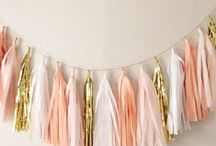 Blush and Gold.