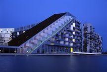 Blue Hour Architecture
