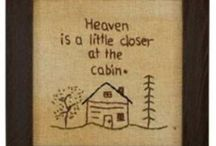 Cabin Decor Ideas / by Karen DeCapite