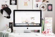 Home: Office / Ideas and inspiration for home offices.