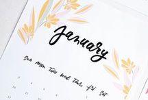 PRINTABLES | Calendars & more