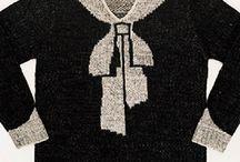 1920s vintage knitwear + fashion / Coco Chanel, Elsa Schiaparelli, Sonia Delaunay and more...