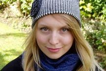 Knitted hats - soft, warm and light - for all year round / Knitwear accessories - cosy hats knitted in beautiful colours and textures for women - for Winter, Spring, Summer, and Autumn/Fall. Softly knitted in beautiful colours and subtle textures, cosy knitwear layers for women of all ages, shapes and sizes.
