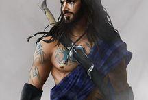 Men in kilts! / Os guerreiros das Highlands: fortes, viris, valorosos e... Onde estava?