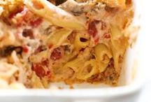 Comfort Food / Meatloaf, potatoes, pasta; anything that feels like a warm, delicious hug!