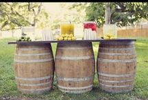 Barrels - Wooden -  Upcycle Reuse Recycle Repurpose DIY / by Tickled Pink Memorabilia Mall