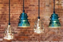 Glass Insulators -  Upcycle Reuse Recycle Repurpose DIY