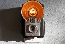 Cameras & More -  Upcycle Reuse Recycle Repurpose DIY / by Tickled Pink Memorabilia Mall