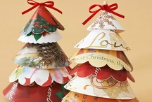 Christmas Cards -  Upcycle Reuse Recycle Repurpose DIY