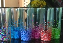 Kitchen - Glasses - Upcycle Reuse Recycle Repurpose DIY