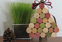 Corks - Ornaments - Upcycle Reuse Recycle Repurpose DIY
