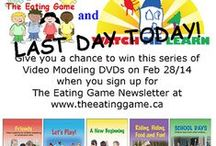 """The Eating Game / A simple solution to an often very complex problem ~ called a """"game"""" because it is fun! It is a program that is to be taken very seriously though as it will likely be a life changer for your child and family."""