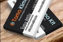 Nyomdai grafika portfolio / Nyomdai grafika referenciák. Nyomdakész anyagok: névjegykártya, szórólap, plakát.