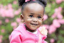 Beautiful Black and Brown Babies! / Cute brown skinned babies!