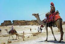 Egito / Berço das civilizações mais antigas do mundo, nação de tesouros extraordinários e experiências fabulosas temperadas com luxo. Conheça as famosas pirâmides de Gizé, uma das sete maravilhas do mundo, as mesquitas e o colorido bazar Khan El - Kalili do Cairo e o venerado Vale dos Reis e das Rainhas com suas magníficas tumbas, escavadas nas rochas do deserto. Embarque num cruzeiro pelo Nilo, para testemunhar a vida em torno deste lendário rio.