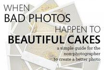Cake Photography Tips / Tips and tutorials to help you showcase your cake art in a photograph.