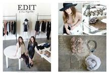 EDIT BY LBP / The name Edit was chosen because that is exactly what we do when we go to market in New York. Starting with the top designer collections, and then editing down to the most unique and exclusive pieces. We continue the editing process at the store every day when we tailor it to you!  http://editlbp.com/