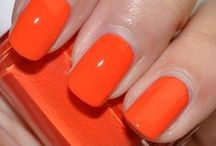 Orange  / Fun vibrant corals into orange shades - a great colour pop for spring summer'14