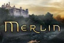 "Merlin  / ""In a land of myth, and a time of magic… the destiny of a great kingdom rests on the shoulders of a young boy. His name… Merlin."""