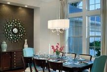 Dining Room Lighting / Dining room lighting should add beauty and functionality to your space. Varying functions such as dining, entertaining, homework and business require layers of ambient, task and accent lighting.
