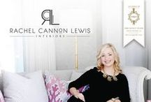 RACHEL CANNON LEWIS INTERIORS / Known for her classic and tailored style, Rachel Cannon Lewis crafts sophisticated interiors that exude an effortless combination of subtle color, rich architectural detail, and a beguiling mix of both livable and luxe details.  http://rachelcannonlewis.com/