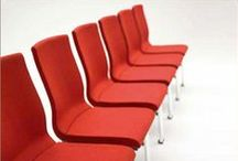 Flair / Designed by Peter Roth, the FLAIR chair is designed for use in all aspects of conferencing. From the large congress hall facility to the intimate meeting room, FLAIR incorporates all that is desirable in a conference chair. The multi-contoured seat shell offers true comfort while maintaining a compact footprint for maximum numbers, with the simple aesthetics and clean lines providing architects and designers flexibility to offer a contemporary solution for all environments.