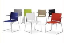 Rigo / Rigo is simply stylish.   Rigo is a steel rod chair available with a chrome plated finish. With its straight lines and multitude of applications, Rigo is sure to be a winner.  Rigo has an injection moulded polypropylene seat and back with an anti-UV treatment and is available in several colour options. It can also be supplied with upholstered seat and back pads from the Burgess collection of fabrics or can be specified by the client.