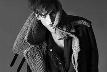 Male Model Fashion Editorials
