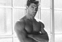 B&W Male Underwear Models