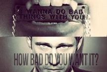 """I wanna do bad things with you"" / True Blood"