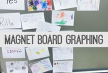 Measurement and Graphing / activities that teach/use measurement, graphing, and data
