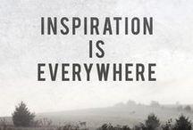 Inspiration / by Samantha Rushton