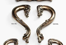 Architectural Decorative Hardware / Schaub & Company's Architectural cabinet hardware from the Symphony collection