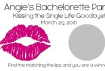 Bachelorette Parties / Our unique, personalized scratch off game is sure to be a hit at your next party! Each set of bachelorette scratch off games comes with 10 cards and measure approximately 3.5x2. They are sold in sets of 10 so be sure to purchase multiple packs for larger parties.