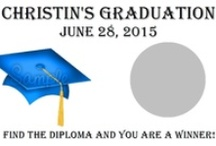 Graduation / Our unique, personalized scratch off game is sure to be a hit at your next party! Each set of graduation scratch off games comes with 10 cards and measure approximately 3.5x2. They are sold in sets of 10 so be sure to purchase multiple packs for larger parties.