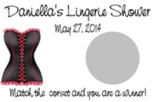 Lingerie Shower / Our unique, personalized scratch off game is sure to be a hit at your next party! Each set of lingerie shower scratch off games comes with 10 cards and measure approximately 3.5x2. They are sold in sets of 10 so be sure to purchase multiple packs for larger parties.