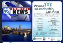 """Recognizing our Women in Leadership Honorees / NAWBO Buffalo Niagara has partnered with WKBW-TV for """"Women in Leadership,"""" a program that recognizes area businesswomen who have succeeded both in the business and charitable arenas and inspire others to follow in their path  Honorees are established women business owners or professional/working women who have exhibited leadership, enterprise, and excellence in their business and give back to the Western New York and/or greater community with volunteer service."""