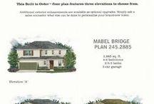 Mabel Bridge in Orlando, Florida / A new development called Mabel Bridge in Orlando, Florida.