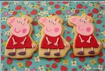 Peppa Pig Party / Peepppaaa Pig (oink)! It's every little girls favourite TV show? Even as Mums and Dads we find our selves laughing along with them! Why not throw a Peppa Pig themed party for your girls next birthday. They will live it!