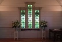 Ceremony / After 150 years of faithful service to Mangere and Onehunga, the Church was relocated from its old home a short distance away to Abbeville Estate. Oriented to catch the light through its stained glass windows, the Church has been carefully restored to celebrate its past.