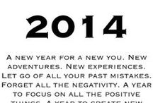 2014 / Here's to the best year YET! / by Samantha Rushton