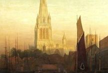 The church in Art / A collection of historical paintings, drawings, illustrations and etchings of St Mary Redcliffe Church by a variety of artists, from a range of galleries, museums and publications.