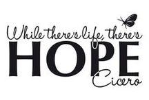 Hope ❤️ / by Samantha Rushton