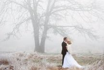 Winter Wedding Inspiration / Ideas for a perfect winter wedding!
